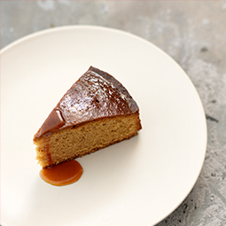 BARBECUED MAPLE CAKE