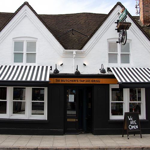 THE BUTCHER'S TAP AND GRILL / MARLOW