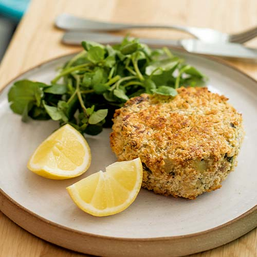 BAKED TUNA FISHCAKES