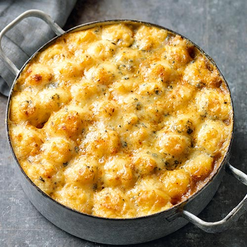 COTTAGE PIE WITH BLUE CHEESE MASH