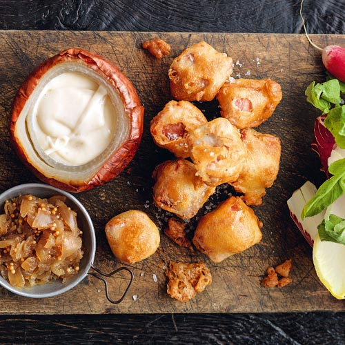 Ham Fritters