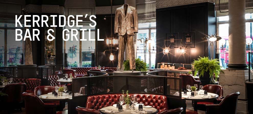 KERRIDGE'S BAR & GRILL / LONDON