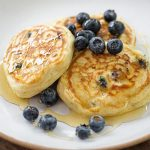 BLUEBERRY, LEMON AND THYME PANCAKES