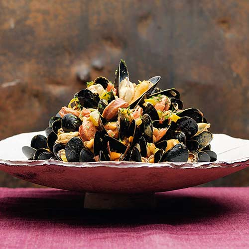 PORTUGESE MUSSEL STEW