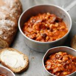 PROPER BAKED BEANS ON SODA BREAD TOAST
