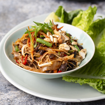 SPICY BEEF LETTUCE CUP