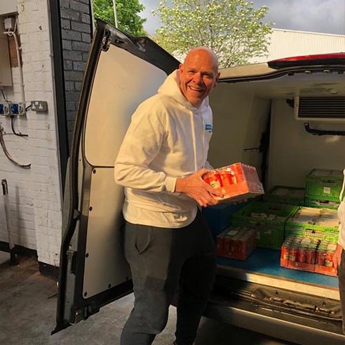 Tom Kerridge Delivering Food