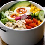 TUNA COBB SALAD BOWL