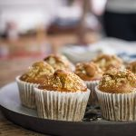APRICOT AND CRANBERRY MUFFINS