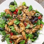 ASIAN-STYLE GRILLED SQUID SALAD