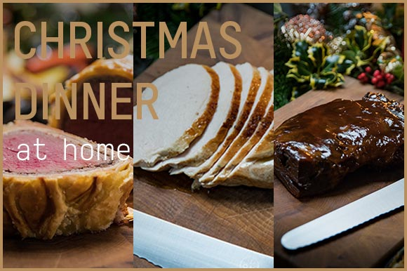 CHRISTMAS DINNER AT HOME WITH TOM KERRIDGE