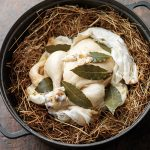 HAY-BAKED CHICKEN AND ROASTED CELERIAC