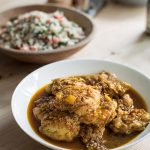 MOROCCAN CHICKEN WITH CAULIFLOWER COUSCOUS