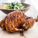 PIRI PIRI CHICKEN WITH LITTLE GEM SALAD