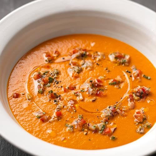 ROAST RED PEPPER SOUP