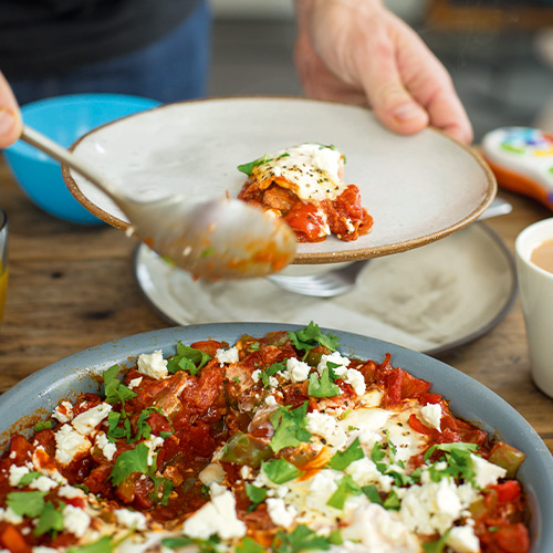 SHAKSHUKA BREAKFAST EGGS