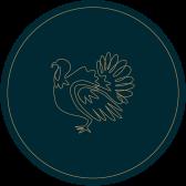Roast Norfolk Turkey with Cranberry, Chestnut and Sage Stuffing