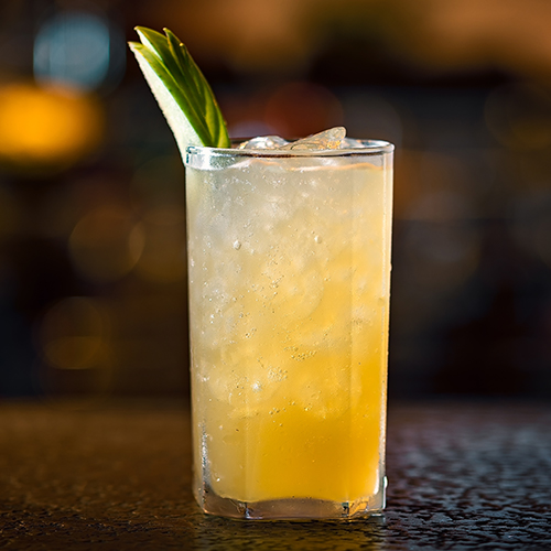 Ginger, spice and all things nice mocktail