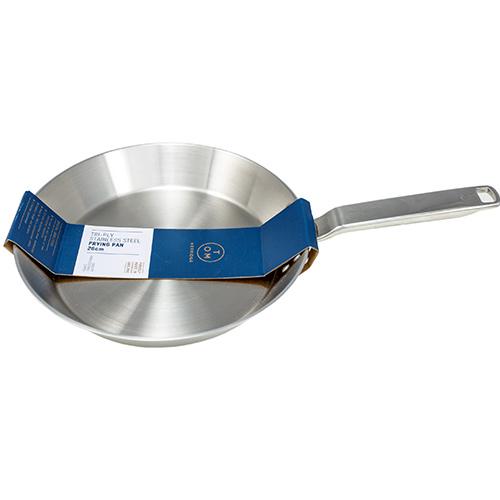 TOM KERRIDGE 26CM STAINLESS STEEL SKILLET PAN