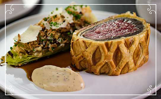 With Love - Beef Wellington