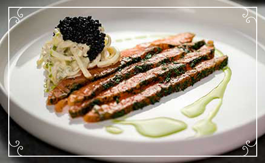 With Love - Salmon Starter