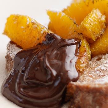 CHOCOLATE AND ORANGE SAUCE