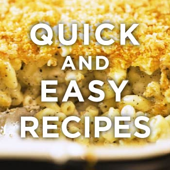 TOM'S QUICK AND EASY RECIPES