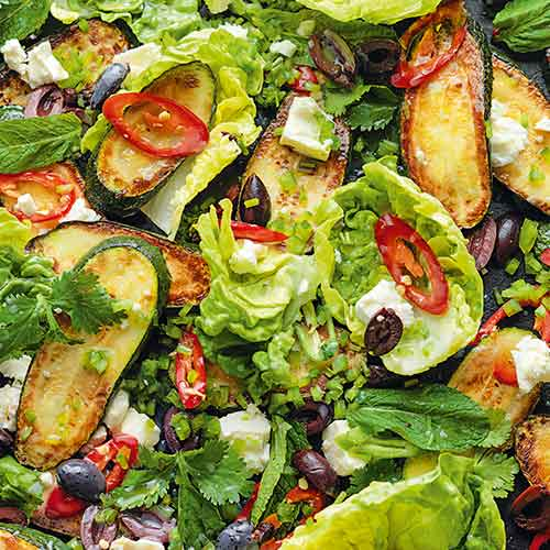 COURGETTE AND FETA SALAD